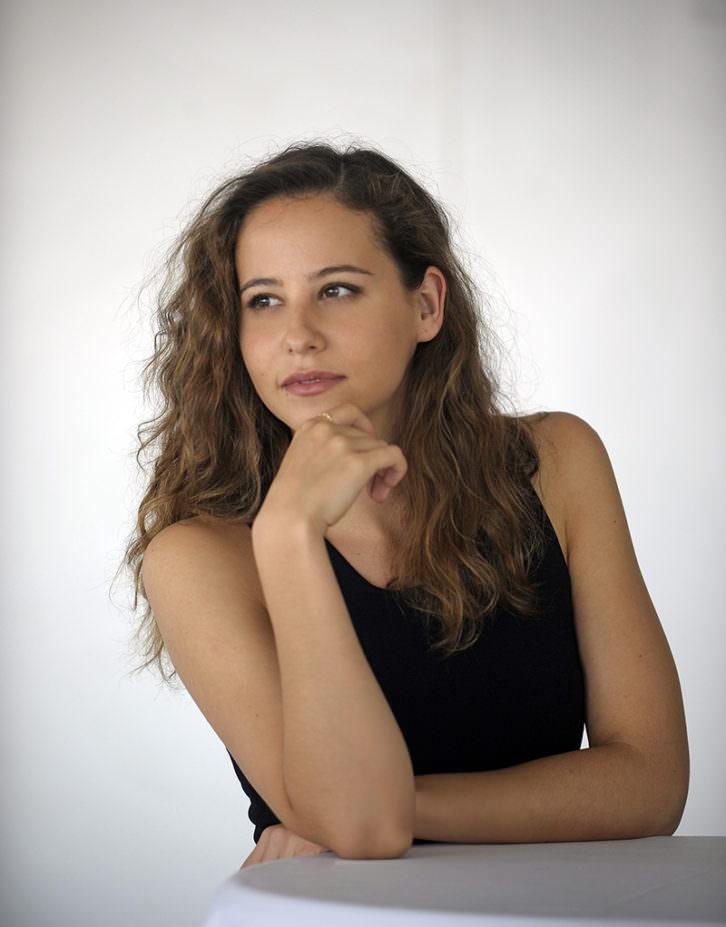 Irene Escolar, Premio Un Futuro de Cine. Imagen cortesía de Cinema Jove.