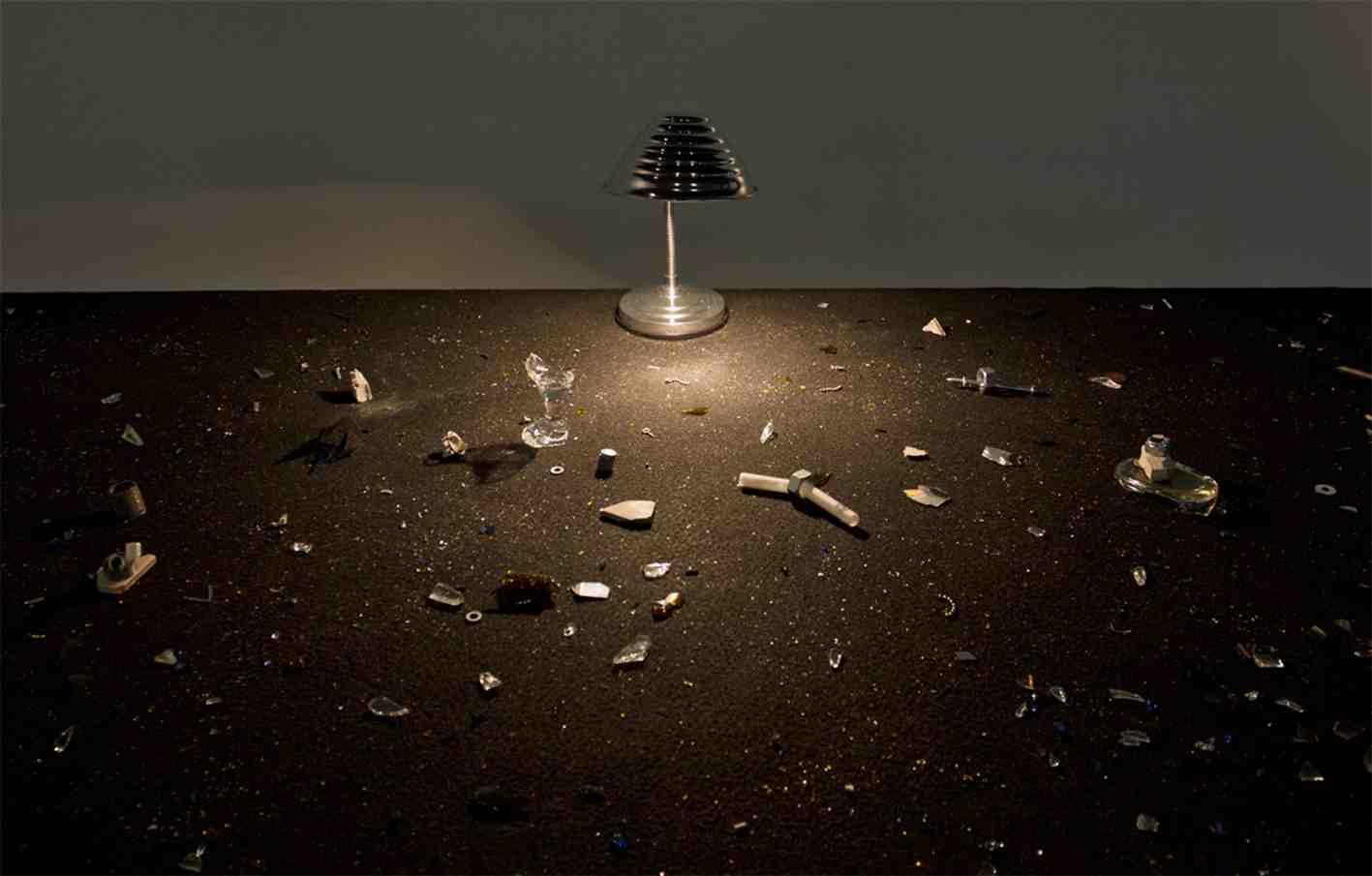 Detalle de 'Pensamiento interestelar', de Julia Llerena. Imagen cortesía de AJG Gallery.