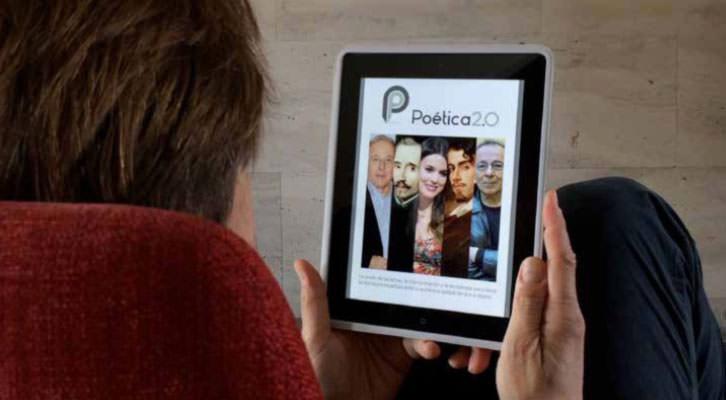 Poética 2.0, proyecto audiovisual de poesía. Imagen cortesía de los promotores.