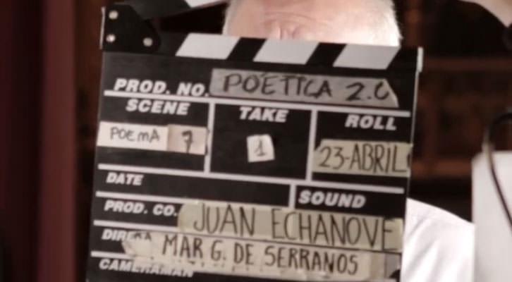 Imagen del making off del video grabado en el Museo Benlliure para 'Poética 2.0'. Cortesía de la organización.