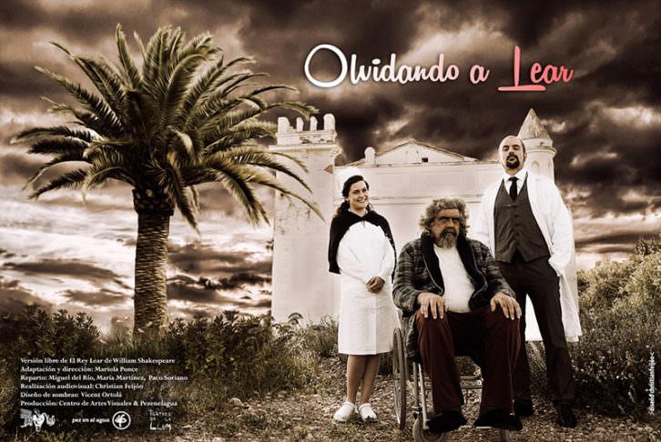 Cartel de la obra 'Olvidando a Lear, de Mariola Ponce. Cortesía de Sala Russafa.