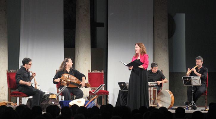 Capella de Ministrers en la edición 2013 de Serenates de la Universitat de València.