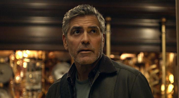 George Clooney en un fotograma de 'Tomorrowland', de Bard Bird.