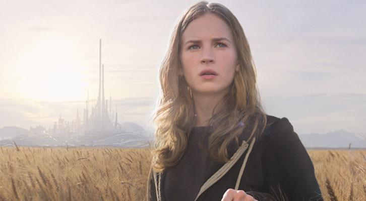 Britt Robertson en un fotograma de 'Tomorrowland', de Brad Bird.