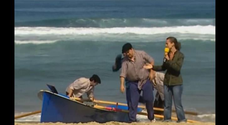 Imagen de uno de los programas de humor 'Vaya Semanita'.