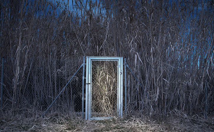 Josep Güell. Puerta sin casa. Cortesía del artista.