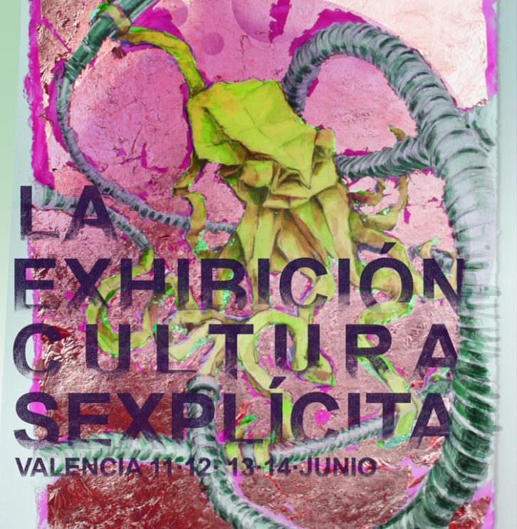 """Cartel de """"La Exhibición. Cultura Sexplícita"""". Imagen cortesía del festival."""