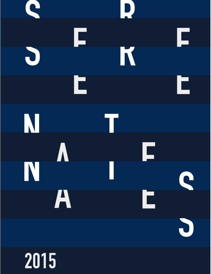 Cartel de Serenates 2015. Universitat de València.