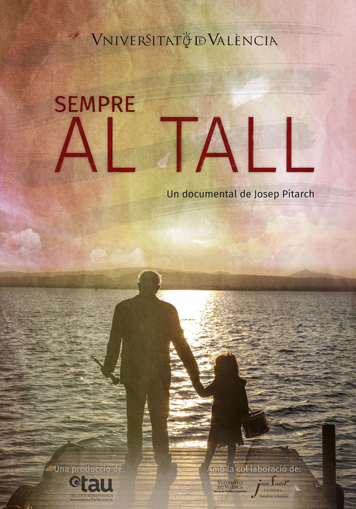 Cartel del documental Sempre Al Tall, de Josep Pitarch. Cortesía de La Nau de la Universitat de Valéncia.
