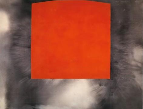 Alfons Borrell. 15-XI-89, Acrílico y collage sobre tela. 1989. Cortesía Fundació Joan Miró.