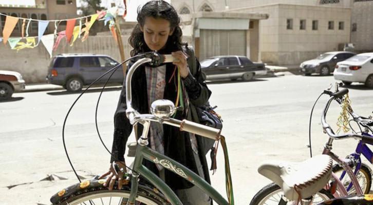 Fotograma de 'La bicicleta verde', de Haifaa Al-Mansour. MuVIM.