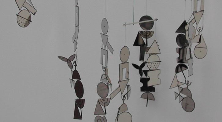 Obra de Cristina Navarro. Imagen cortesía de Espacio 40.