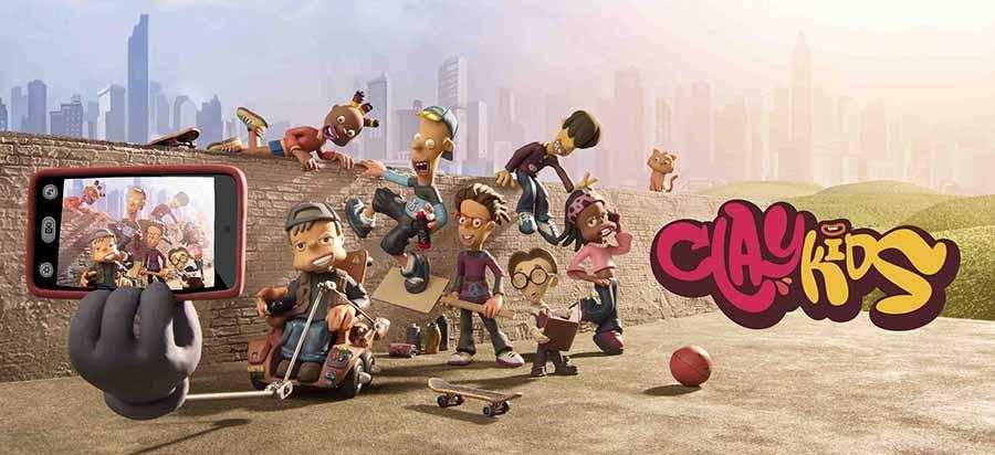 Imagen de la serie Clay Kids. Cortesía de sus autores.