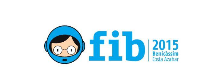 Logo del FIB 2015 Benicàssim. 2015. Cortesía de FIB.