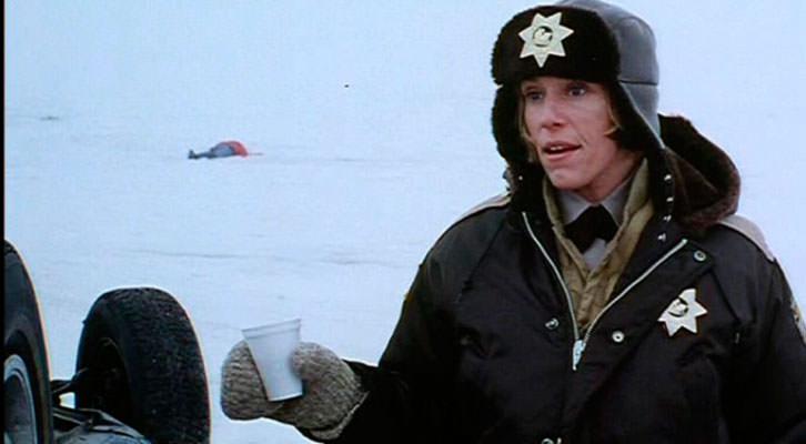 Fotograma de Fargo, de Joel Coen. Nits de Cinema de la Universitat de València.