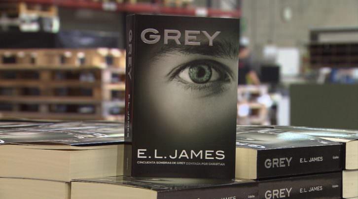 Grey, de E. L. James, en una imagen promocional.