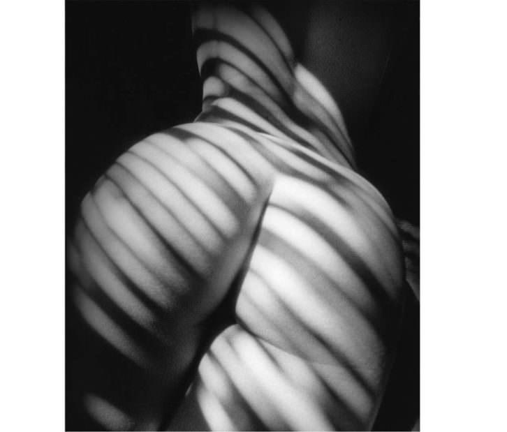 Fotografía de Pedro Hernández en la exposición 'Sens/Sex. El cuerpo la arma',  de Espacio 40. Cortesía del autor.