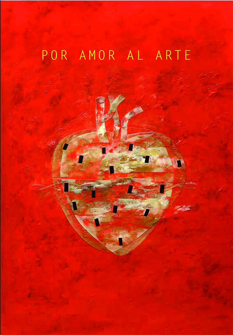 Portada de Horacio Silva del libro 'Por amor al arte',