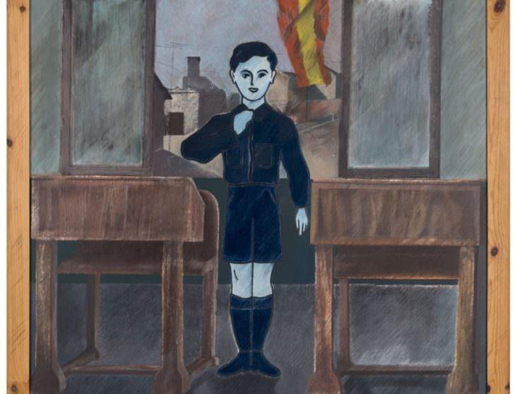 Obra de Rafael Martí Quinto. Imagen cortesía del IVAM.