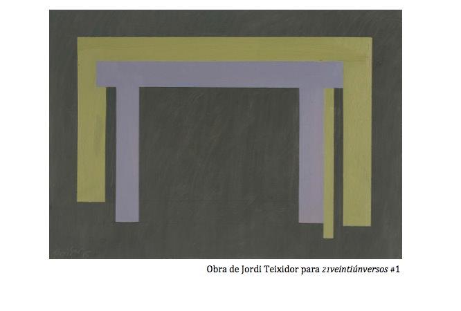 Obra de Jordi Teixidor.