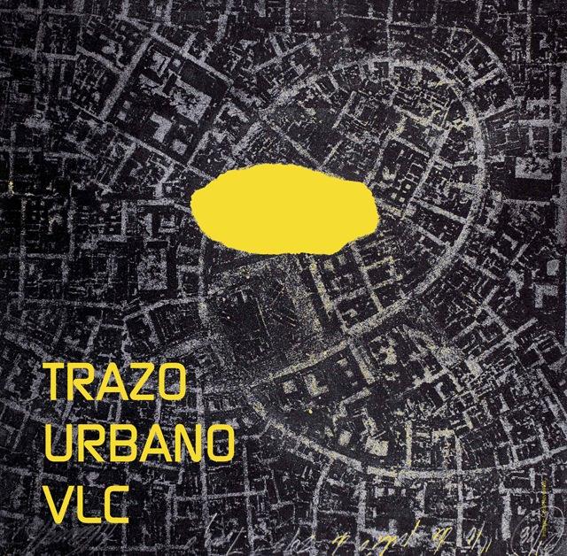 Imagen del cartel de la exposición Trazo Urbano VLC. Cortesía de la UPV.