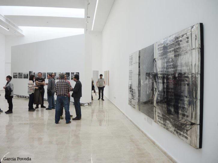 Vista general de la exposición Trazo Urbano VLC. Fotografía de García Poveda cortesía de la UPV.
