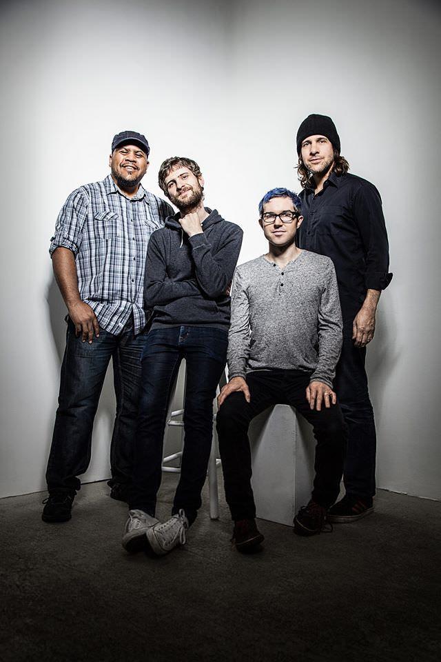 Integrantes de la banda neoyorquina ForQ. Imagen cortesía de Jimmy Glass.
