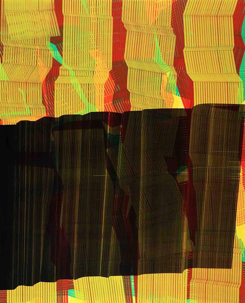 Obra de Sergio Barrera, de su serie Alternancia, tiempo perceptible, tiempo imperceptible. Set Espai d'Art. Cortesía del autor.