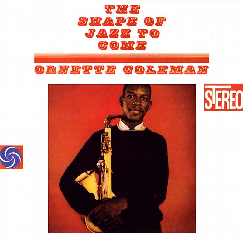 Portada del disco 'The Shape of Jazz to Come', de Ornette Coleman, al que se rinde tributo en Jimmy Glass.
