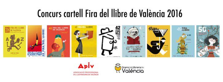 Convocatoria Concurso Cartell Fira del llibre de València 2015. Cortesía de Fira del Llibre.