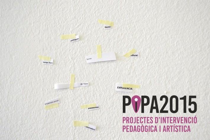Cartel promocional de la convocatoria Pipa 2015. Cortesía de Lo Pati
