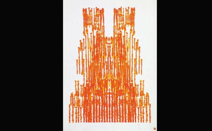 Catedrales, de Manuel Jorge, en Isabel Bilbao, por cortesía de la galería.