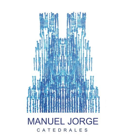 Tarjeta de presentación de la exposición Catedrales, de Manuel Jorge, en Isabel Bilbao. Cortesía de la galería.