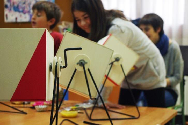 Propuestas de talleres didácticos en el marco de Unitat Mòbil del Paisatge. 2014-2015. Cortesía de Idensitat.