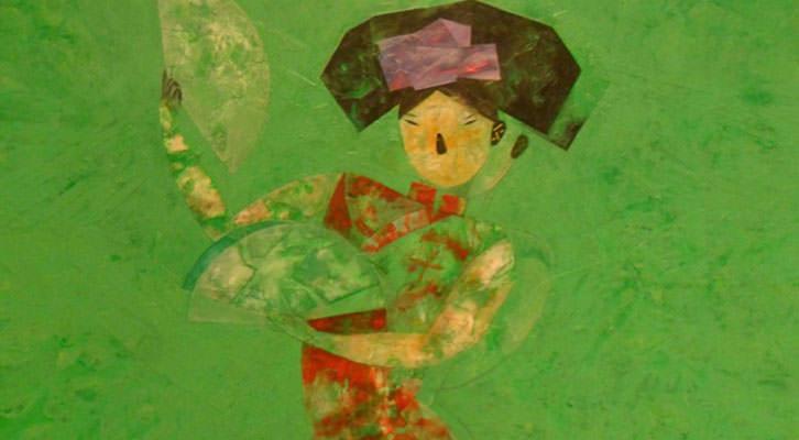 Obra de Horacio Silva en 'Shangri-La'. Centro del Carmen.
