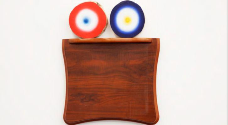 Obra de Usoa Fullaondo en la XVII edición CALL de Luis Adelantado. Cortesía de la galería.