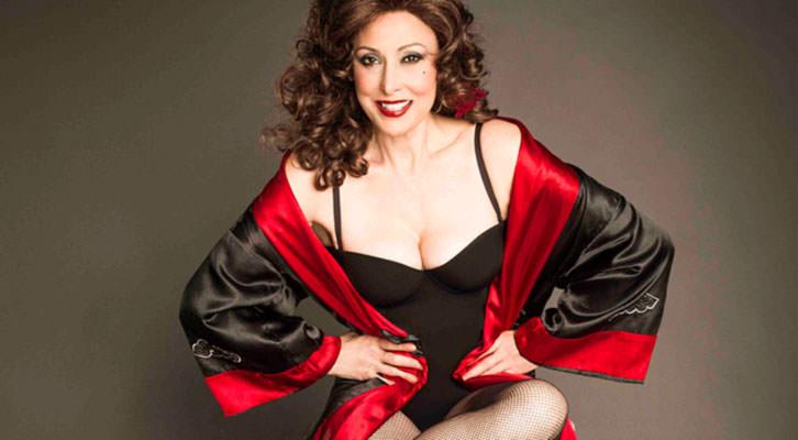 María Barranco como 'Legionaria'. Teatro Talía.