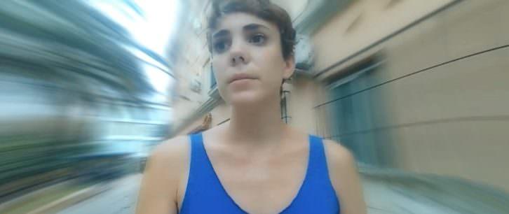 Imagen del video 'Wanda', de Gabriel Ochoa, promocional de Creador.Es. Actriz: Anna Moret.