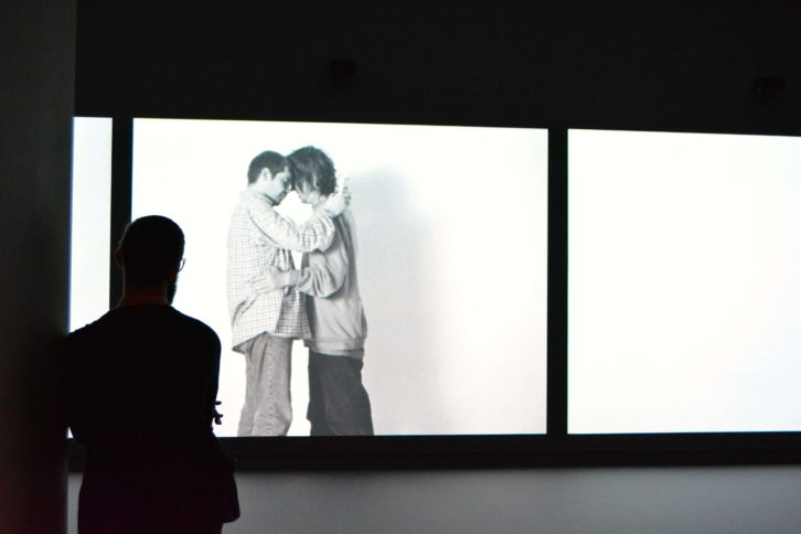 Fotograma del vídeo 'Drunk' (1999). Fotografía de Jose Ramón Alarcón.
