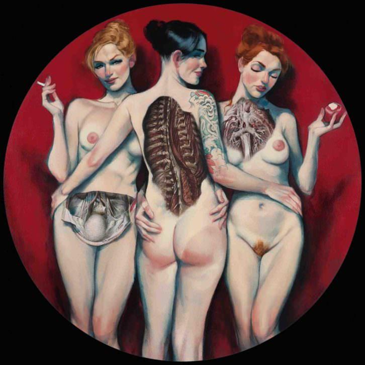 Obra de Fernando Vicente. Imagen cortesía de La Fiambrera Art Gallery.