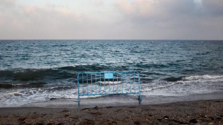 Olalla Gómez. La marea. Vídeo. 2015. Cortesía de Galería Astarté.
