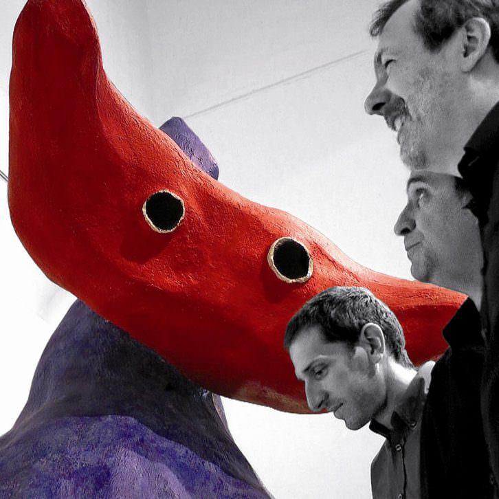 Imaginando Miró de Ignasi Terraza Trio en Jazz Eñe. Imagen cortesía de SGAE Valencia.