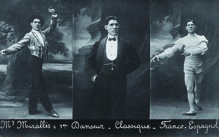 Collage realizado con fotografias de la colección Paul Darby & Wyss.
