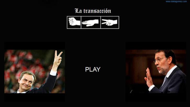 Olalla Gómez. La transacción. Vídeo. 2015. Cortesía de Galería Astarté.