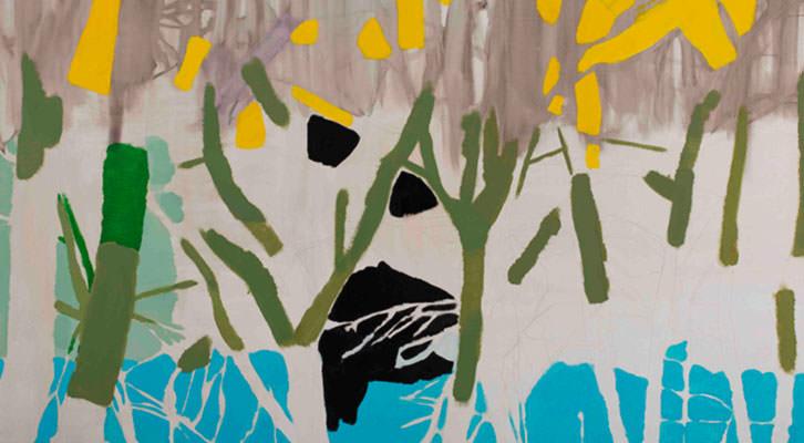 Obra de Morten Slettemeas, en Luis Adelantado, Premio Adquisición de la Fundación Hortensia Herrero.