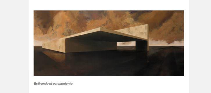 Obra de Rafa de Corral en Alba Cabrera. Abierto Valencia 2015.