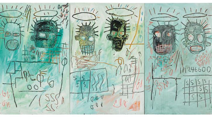 Six Crimee, de Jean-Michel Basquiat. Cortesía de Museo Guggenheim Bilbao.