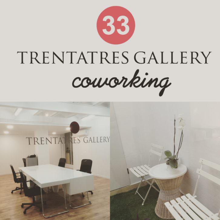 Trentatres Gallery Coworking en Dénia,62 (Ruzafa). 2015. Cortesía de TRENTATRES.