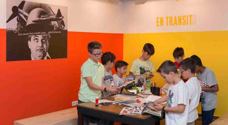 Talleres en el IVAM. Cortesía del museo valenciano.
