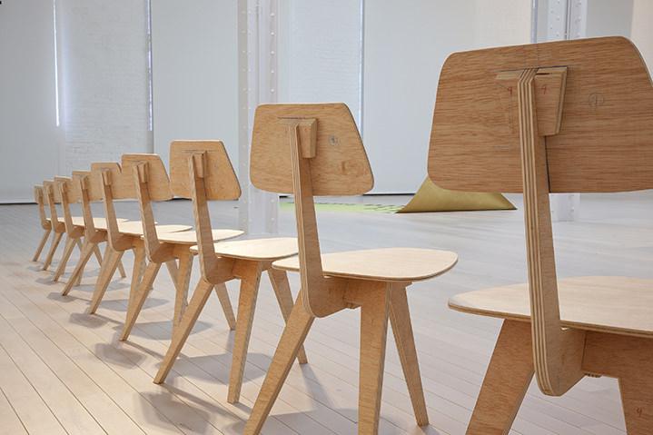 Instalación de Xavier Arenós. Cortesía de la galería Rosa Santos.